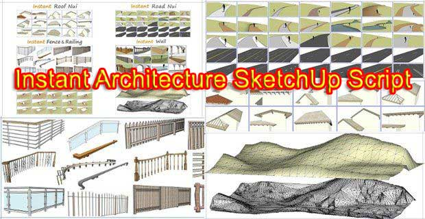 instant architecture script for sketchup